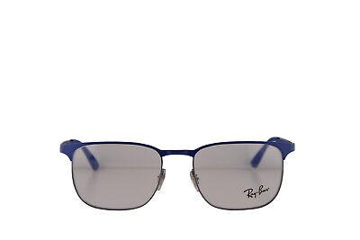 Ray Ban RX6363 Brille 52-18-145 Blau mit / Demo Klar Linse 2889 RB6363 RB 6363