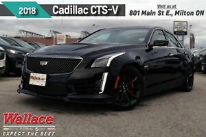 2018 Cadillac CTS-V DEMO/0% FNCING!/640HP/SUNRF/NAV/HTD STS&WHL/