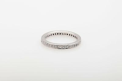 Designer Platinum Diamond Band (Designer $3000 1ct VS G Diamond Platinum Eternity Band Ring SZ 6 )