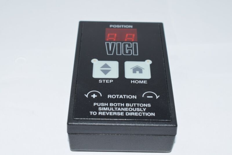 VICI Valco Instruments Position Controller, Control Module Step Home