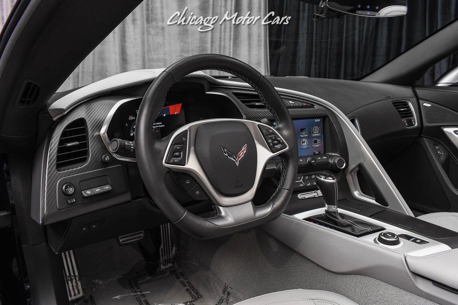 2019 Black Chevrolet Corvette Z07 2LT   C7 Corvette Photo 8
