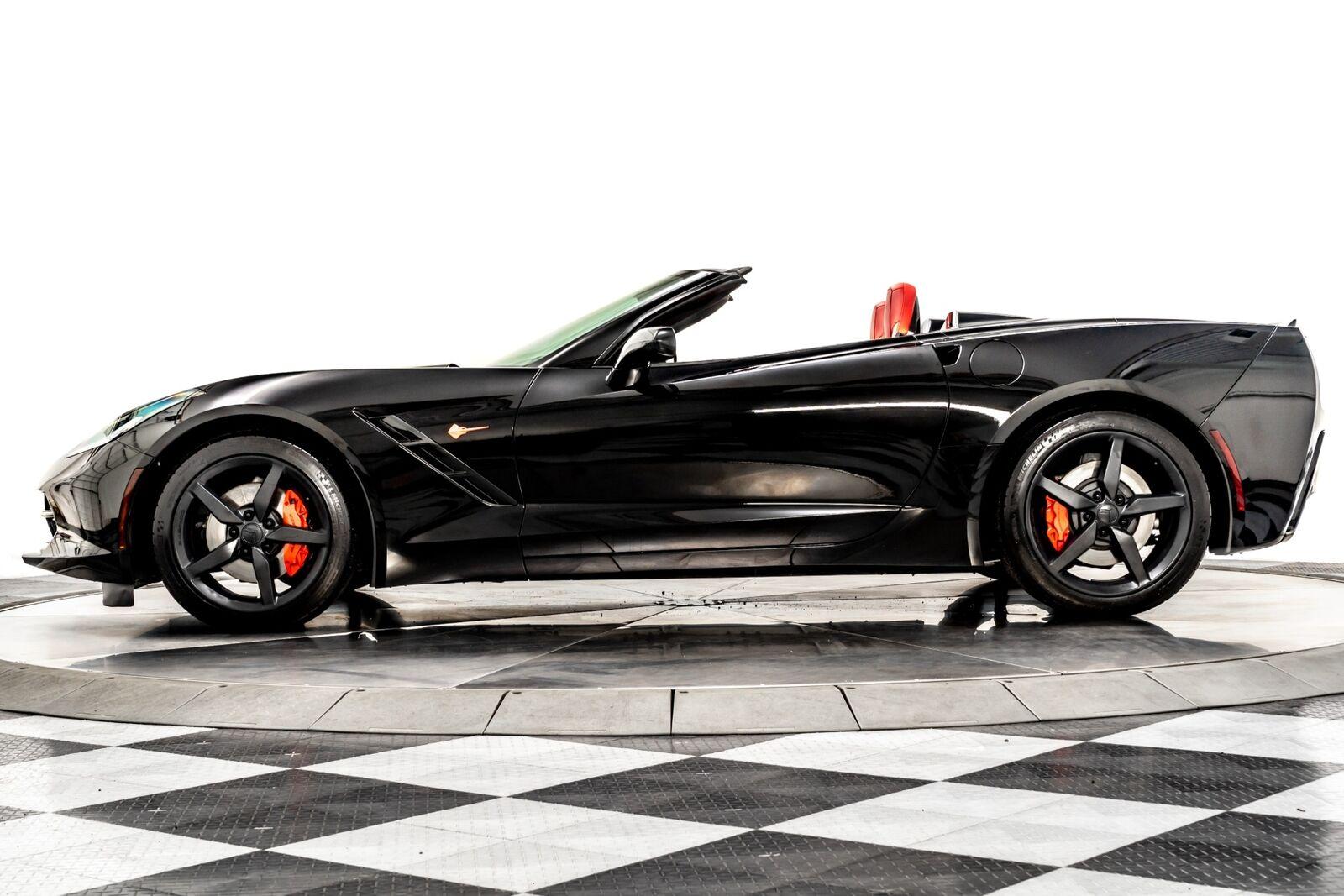 2014 Black Chevrolet Corvette Convertible 2LT   C7 Corvette Photo 5