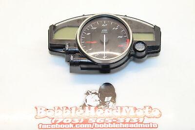 08-16 Yamaha Yzf R6 Oem Speedo Tach Gauges Display Cluster Speedometer D7