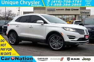 2016 Lincoln MKC RESERVE| 2.3 ECOBOOST| AWD| TECHNOLOGY PKG & MO