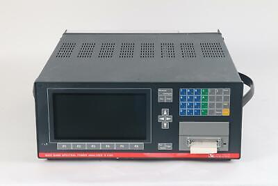 Valhalla Scientific D 6100 Wide Band Spectral Power Analyzer