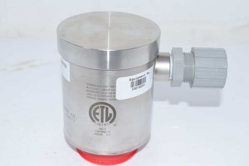 NEW Anderson Instruments SV071G00401200 PRESSURE TRANSMITTER 30 VDC Max 0-100 PS