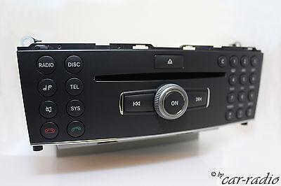 Mercedes Original W204 Radio ZB Bedienteil MP3 C-Klasse X204 GLK-Klasse Headunit