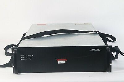 Sorensen Asd60-60-60e2aaarb 30kw 0-60v 0-500a Ac-dc Programmable Hv Power Supply