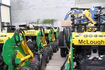 McLoughlin Mini loaders WA - Oz wide shipping  Quality Diggers