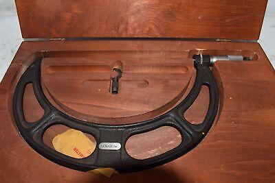 Starrett Outside Micrometer No. 436 8-9 Wood Case