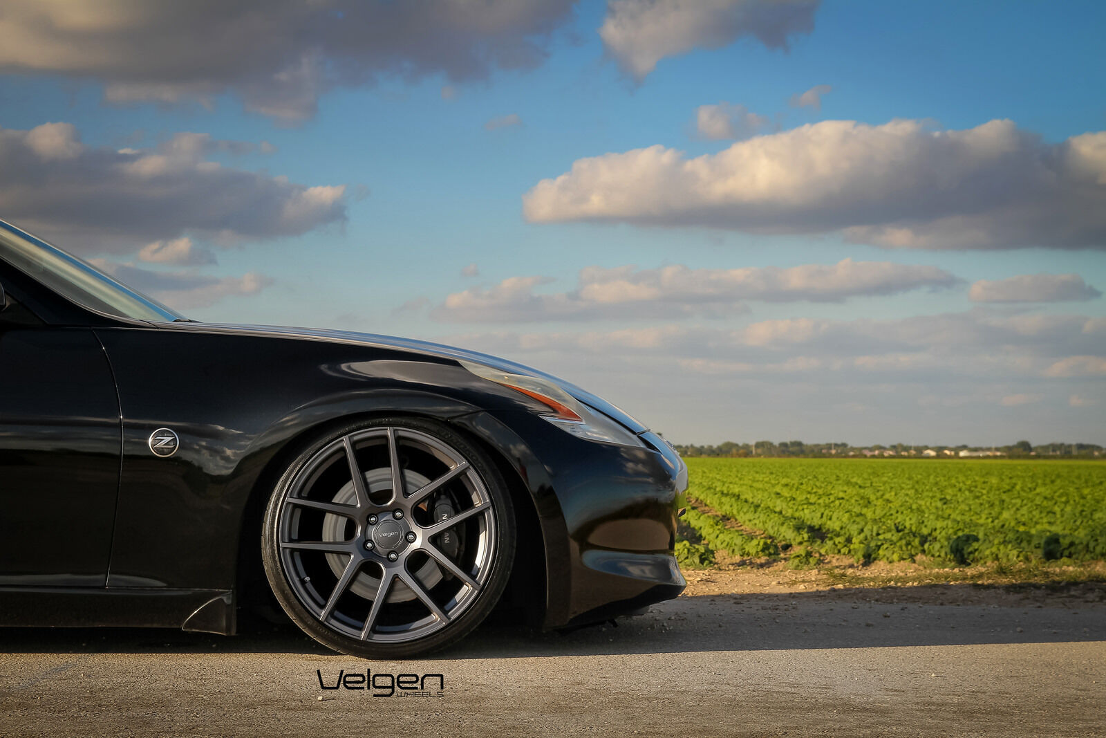 20x9 20X10.5 Velgen VMB5 5x114.3 Gun metal Wheels Fit NISSAN 370Z Z34