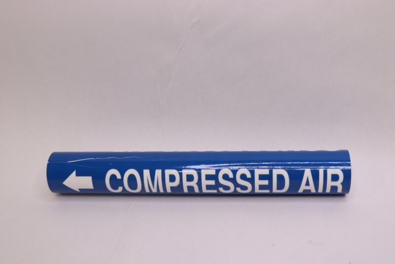 """Compressed Air Coiled Pipe Marker 1-1/8"""" Thru 2-1/4"""" MS975"""