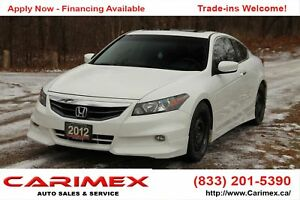 2012 Honda Accord EX-L V6 HFP Package | NAVI | V6 | CERTIFIED