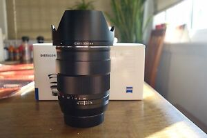 Mint condition Carl Zeiss 35mm/F1.4 ZE lens Bondi Junction Eastern Suburbs Preview
