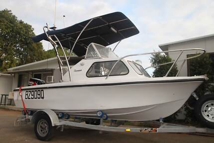 15FT FISHING BOAT 70 HP NEAR NEW 2012 MOTOR 45.4HRS Kallangur Pine Rivers Area Preview