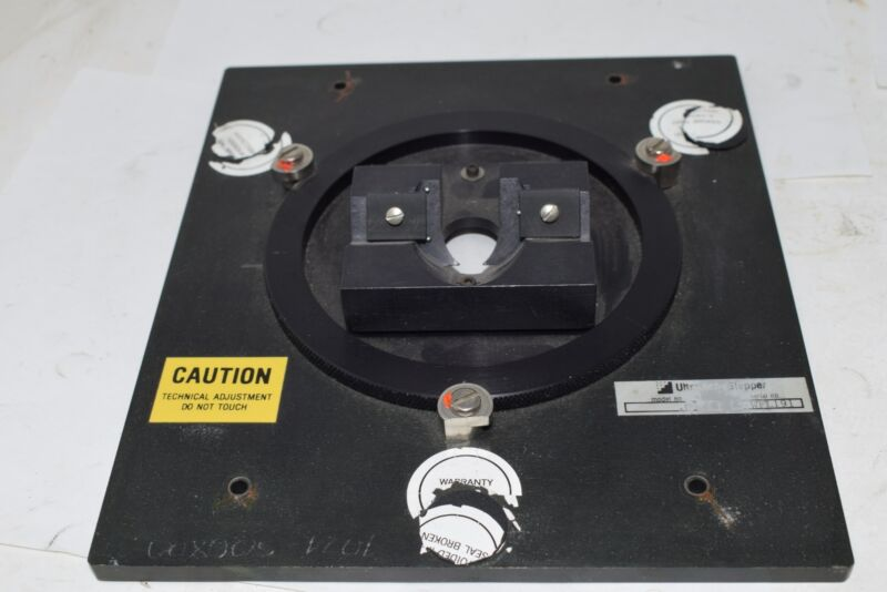 Ultratech Stepper Alignment Lens Assembly Positioner Fixture Plate, .090 Serial