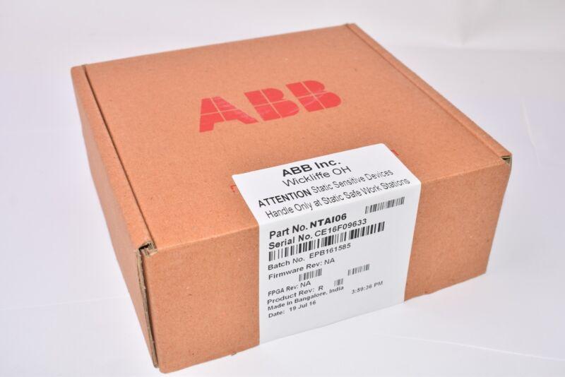 NEW, ABB, NTA106, Infi 90, Termination Unit Pcb Circuit Board, Factory Sealed