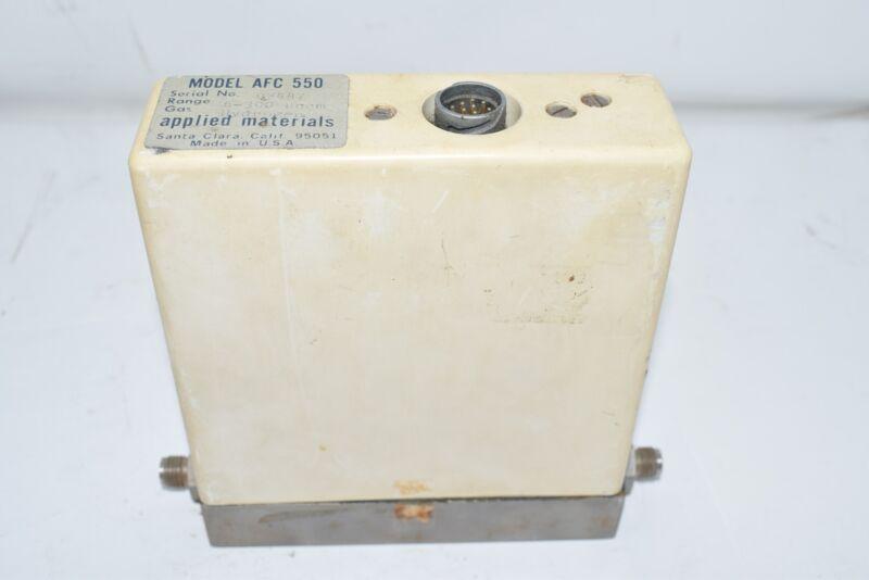 Applied Materials Mass Flow Controller, Rust AFC-550 6-300 SCCM Hydrogen