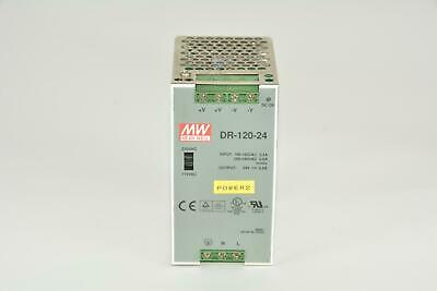 Mw Mean Well Dr-120-24 Power Supply