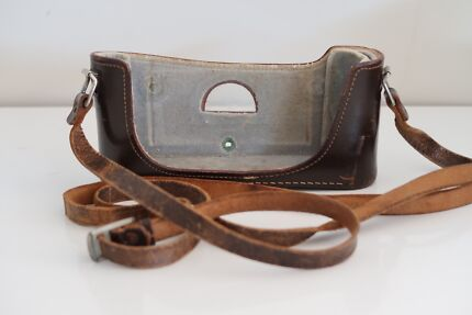 Leica leather half case and strap for m2,m3,m6, m7 or mp
