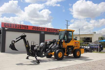 2018 Jobcat SM75 with Backhoe+GP bucket+Bucket 4 in 1+Forklift