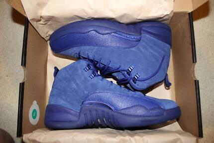 Nike Air Jordan 12 Deep Blue Suede 2016 US 10