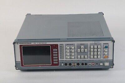 Rohde Schwarz Efa Tv Test Receiver W Efa-b3 Efa-b20 Efa-b11 Efa-b13 Efa-b14