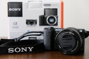 Sony a5100 with 16-50mm lens