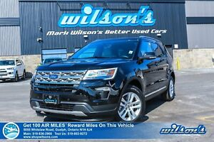 2018 Ford Explorer 4x4 - Leather, Navigation, Sunroof, Heated Se