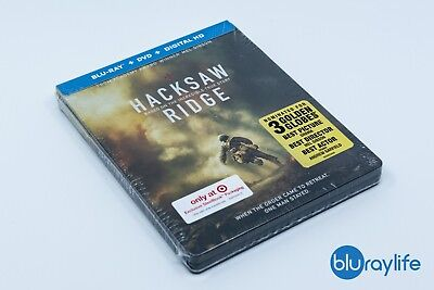Hacksaw Ridge - Target Steelbook Exclusive (Blu-ray + DVD + Digital) for sale  Round Rock