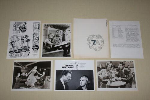 THE GIRL NEXT DOOR - press kit 3 photos Dan Dailey June Haver Dennis Day 1953