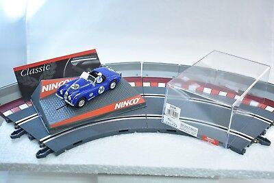 32 Ninco Slot Cars - 50520 NINCO 1/32 SLOT CARS  JARUAR XK120 -ECOSSE- BLUE # 36