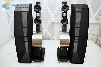 Anthony Gallo Reference 3.1 Speakers - Stainless Steel/Black