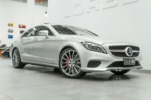 2015 Mercedes-Benz CLS400 218 MY15 Iridium Silver 7 Speed Automatic G-Tronic Coupe Port Melbourne Port Phillip Preview