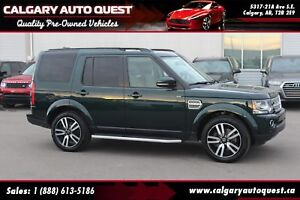 2015 Land Rover LR4 LUXURY AWD/NAVI/B.CAM/DVD/3RD ROW/ROOF