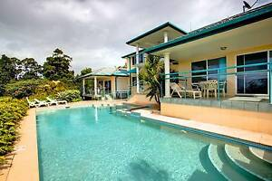 KORORA  EXEC  7 BRM OCEAN VIEW FULLY FURN HOUSE WITH POOL Coffs Harbour Coffs Harbour City Preview