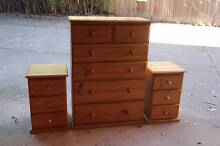 Excellent condition tallboy&2 matching sidetables can deliver Parramatta Parramatta Area Preview