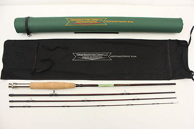 High Modulus IM7 Graphite Fly Rod 8 Ft 4-5 wt with rod sock and rod case Im7 Graphite Rods