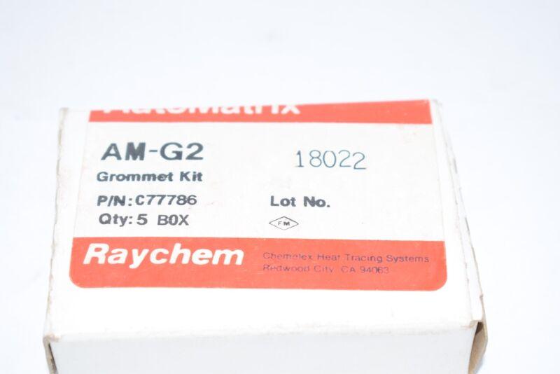 NEW Raychem AM-G2 C77786 Grommet Kit 5/Box