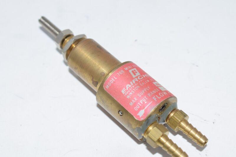 Fairchild 70B Mini Pressure Regulator 500 PSI 0-15 Output