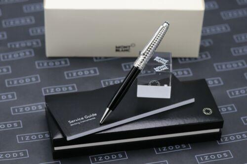 Montblanc Meisterstück Geometric Platinum-Plated Doue Ballpoint Pen