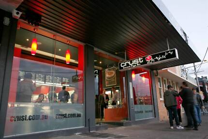 Crust Gourmet Pizza Franchise For Sale in Melbourne
