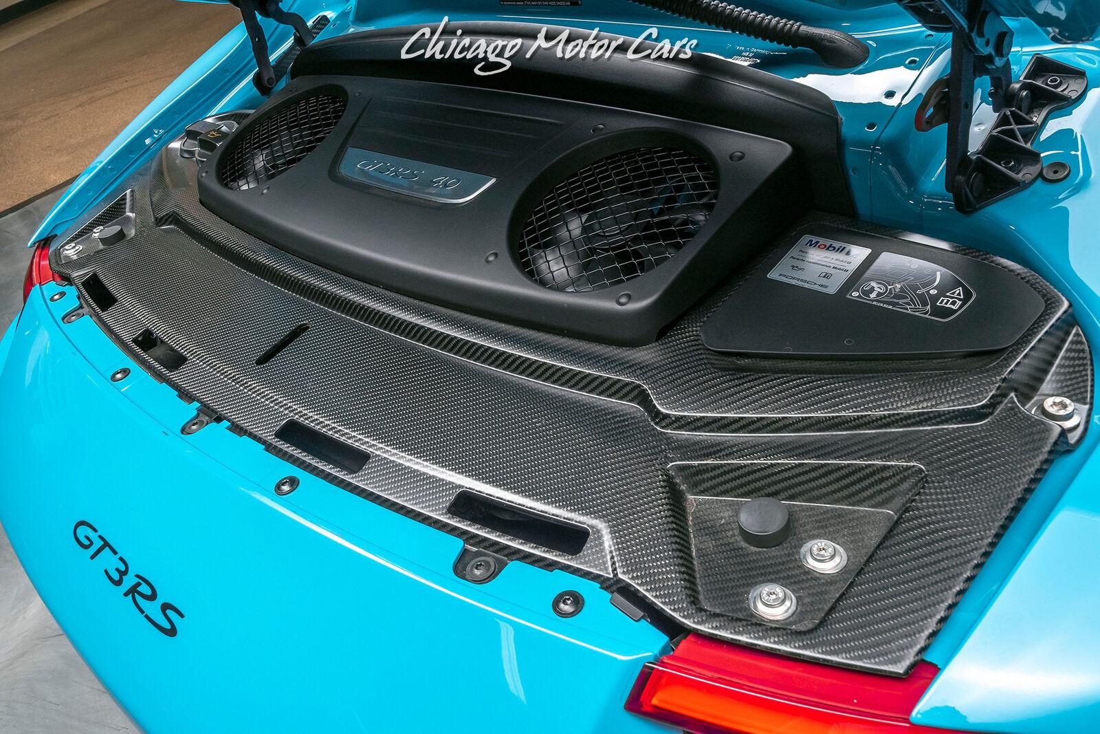 2019 Porsche 911 GT3 RS Coupe - Miami Blue! Only 2500 ...