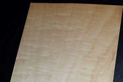 Curly Maple Raw Wood Veneer Sheets 6 X 36 Inches 142nd   8632-24