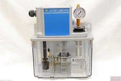 Cen01 Electric Lubricator 220vac Lubrication Unit For Plc Control 3l Tank