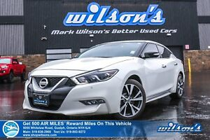 2017 Nissan Maxima SV | NAVI | LEATHER | POWER SEAT | HEATED SEA