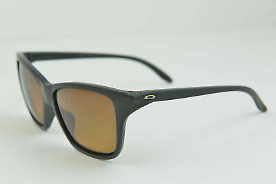Oakley Hold On Matte Black / Brown Gradient Polarized OO9298-01 Sunglasses 58-13 Polarized Brown Gradient Sunglasses