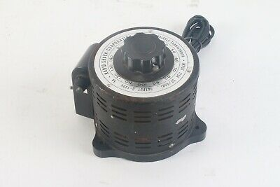 Radio Shack Micronta 0-140v Powerstat Variable Transformer