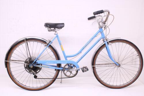 Vintage Ladies 1974 Schwinn Collegiate Blue S5 S6 Bicycle Bike 1970's