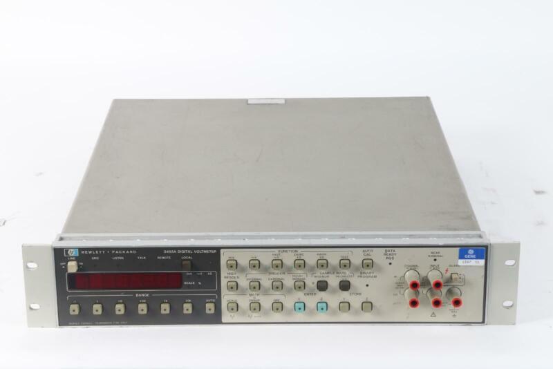 HP 3455A Digital Voltmeter - Tested